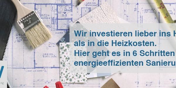 Wir investieren lieber ins Haus als in die Heizkosten
